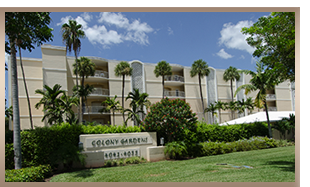 Colony Garden Condos at Park Shore