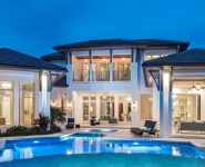 Newly Constructed Park Shore Luxury Homes overlooking Venetian Bay